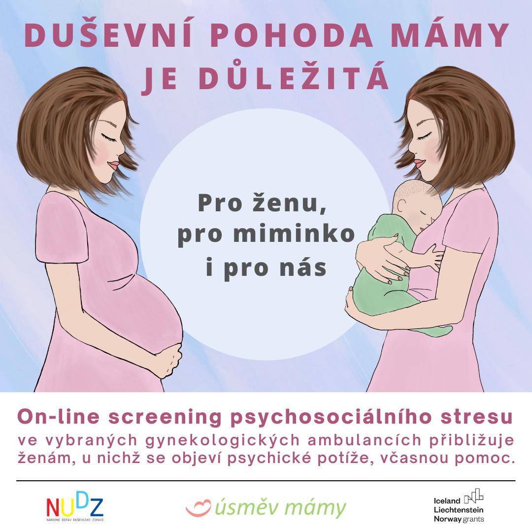 První krok k systematické péči o duševní zdraví matek v ČR